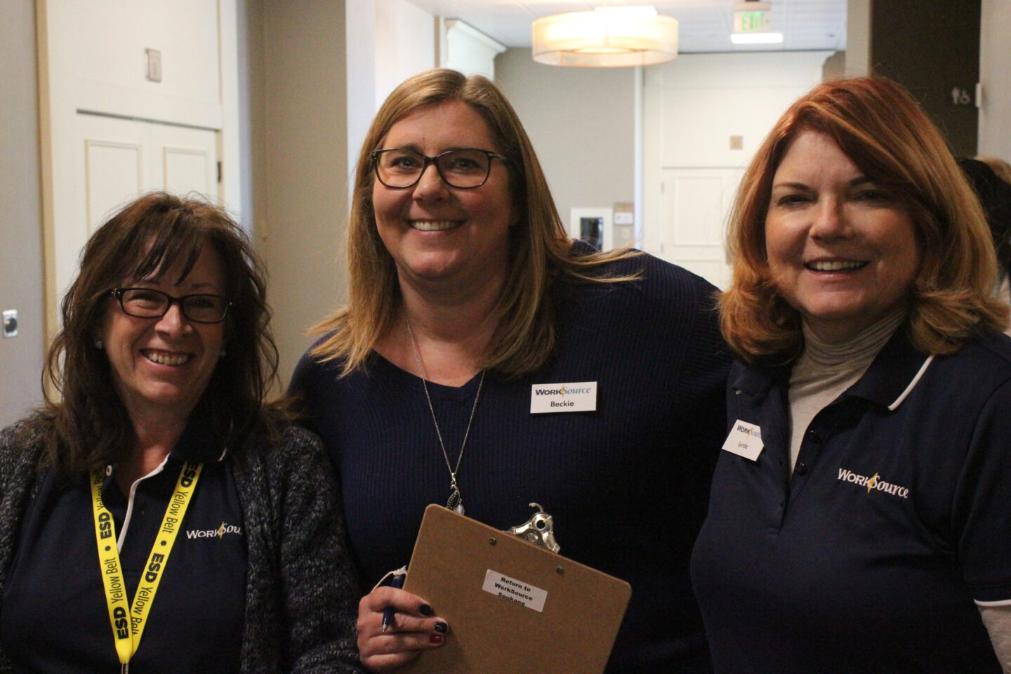 WorkSource Staff at the Access Job Fair