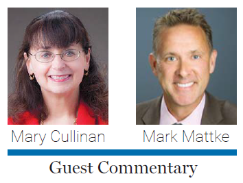 JOB Guest commentary, photo of Mark Mattke, Mary Cullinan