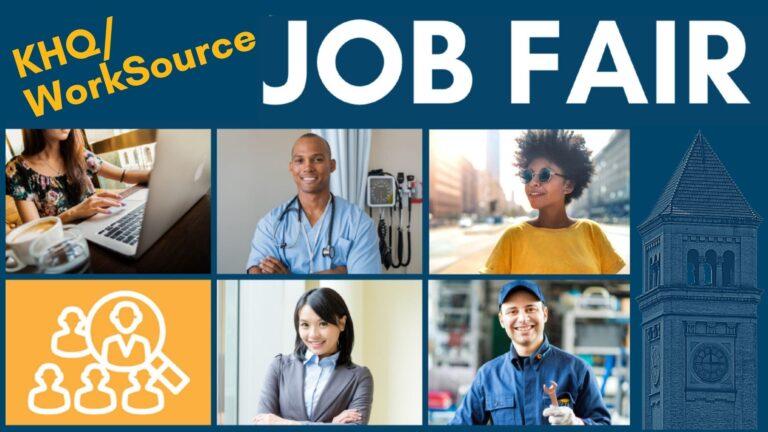 KHQ/WorkSource Job Fair General Promo Material