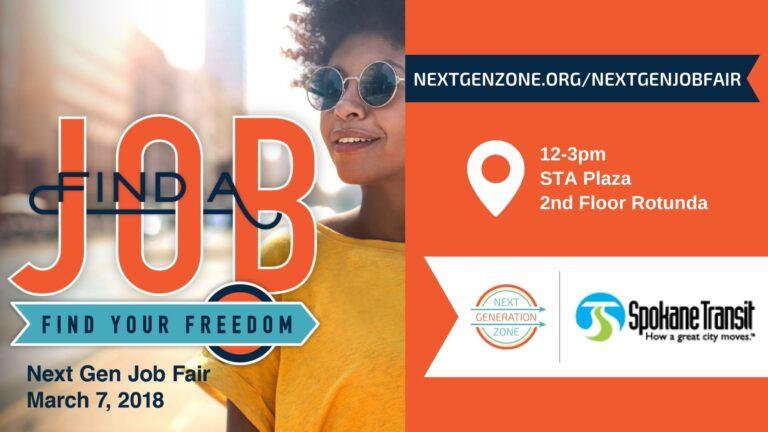 2018 Next Gen Job Fair promo