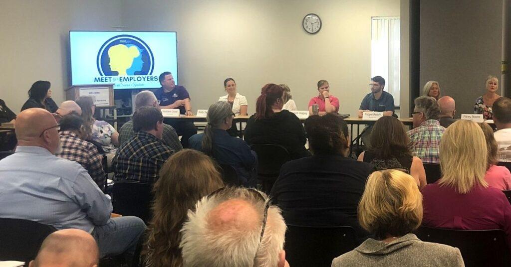 WorkSource Spokane's Exclusive Meet the Employers Hiring Event