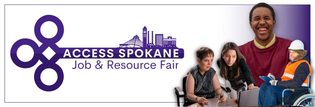 Access Spokane Job and Resource Fair logo