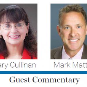 JOB Guest commentary, photo of Mark Mattke, Mary Cullinan
