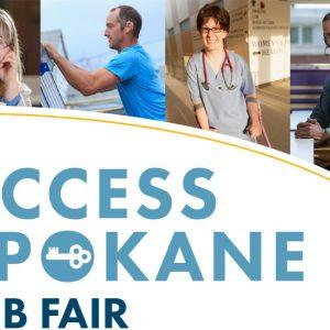 Access Spokane Job Fair Banner